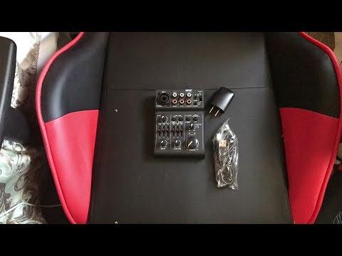pyle pad30mxubt bluetooth 3 channel audio mixer usb audio interface 18v phantom power youtube. Black Bedroom Furniture Sets. Home Design Ideas