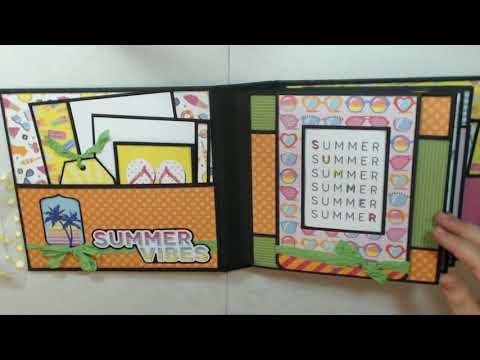 CCC Photoplay Those Summer Days Album & Tutorial