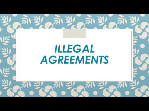 Illegal Agreements Youtube