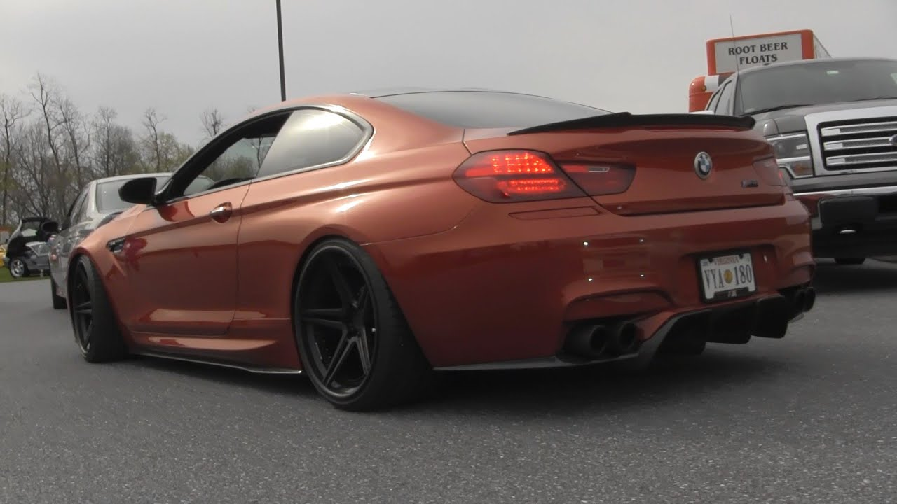 BMW M6 Gran Coupe >> MODIFIED BMW M6 F13 W/ Akrapovic Evolution Exhaust SOUND! - YouTube