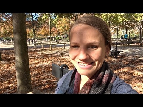 going OVER the budget? FOOD MINIMALISM update in the Luxembourg Garden