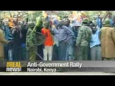 Kenyan election spirals into violence