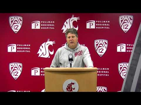 WSU Football: Mike Leach Press Conference 9/9/19