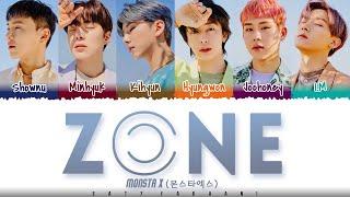 Baixar MONSTA X  - 'ZONE' Lyrics [Color Coded_Han_Rom_Eng]
