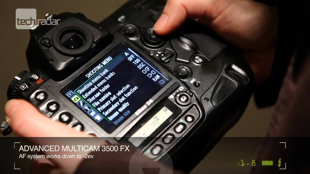 Nikon D4 DSLR Pro Camera Review - Release Date, Specs, Price - YouTube