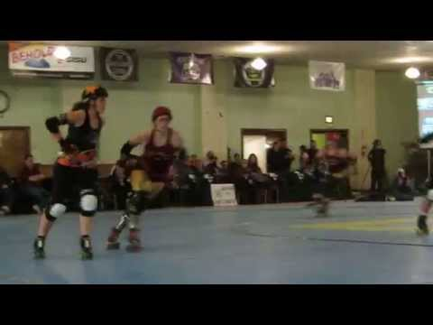 Detroit Derby Girls at Masonic Temple in Detroit. Feb. 21, 2015