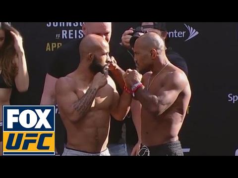 Demetrious Johnson vs. Wilson Reis | Weigh-In | UFC ON FOX