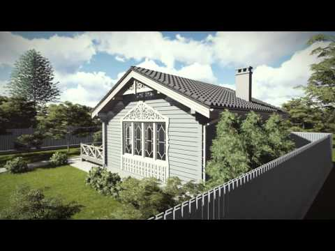 Элитный деревянный дом 87 м2