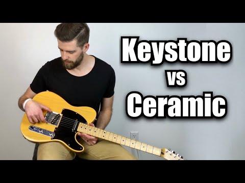 Telecaster Keystone vs Original Ceramic Hot Pickups