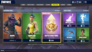 RAVEN & WHIPLASH SKINS! (Fortnite Item Shop September 18)