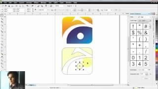 How to make Geo News Logo in Corel Draw.avi