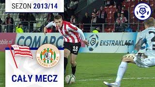 Cracovia - Zagłębie Lubin [1. połowa] sezon 2013/14 kolejka 20