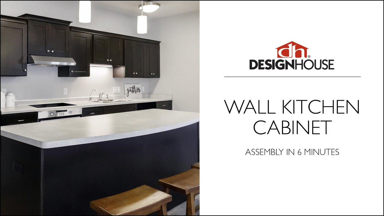 Design House Kitchen Wall Cabinet embly in 6 minutes - YouTube on kitchen base cabinets, kitchens with white cabinets, kitchen countertops, unfinished kitchen cabinets, kitchen cabinet ideas, kitchen corner cabinets, kitchen pantry designs, kitchen design cabinets, ash kitchen cabinets, used kitchen cabinets, kitchen wall windows, pantry cabinets, modern kitchen cabinets, kitchen wall units, kitchen drawers, kitchen wall colors, kitchen wall decor, kitchen wall design, kitchen storage cabinets, modular kitchen cabinets,