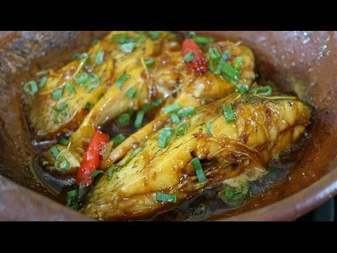 Cá kho - Vietnamese Caramelized Fish