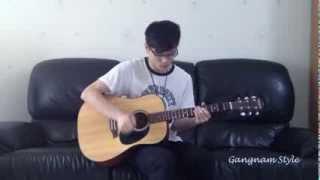 (Psy) Gangnam Style fingerstyle guitar solo - Neville Ma
