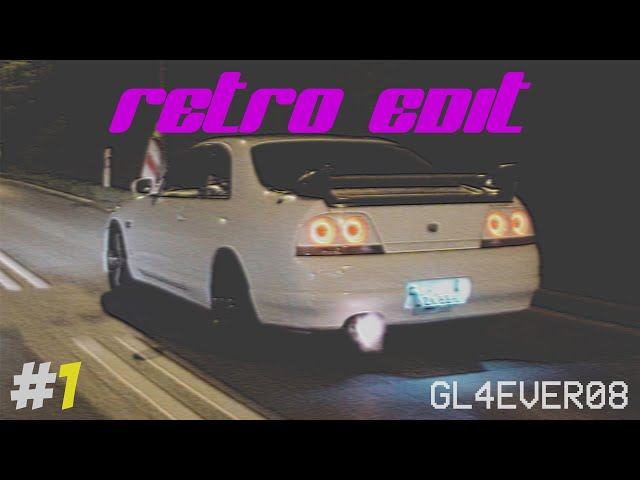 RETRO EDIT #1 - MAZDA RX7 RX8 MX5 - NISSAN SKYLINE R32 R33