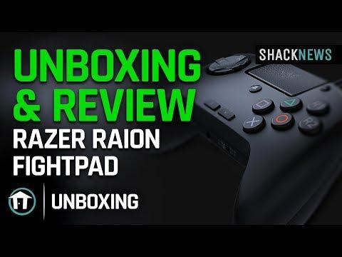 Unboxing & Review: Razer Raion Fightpad