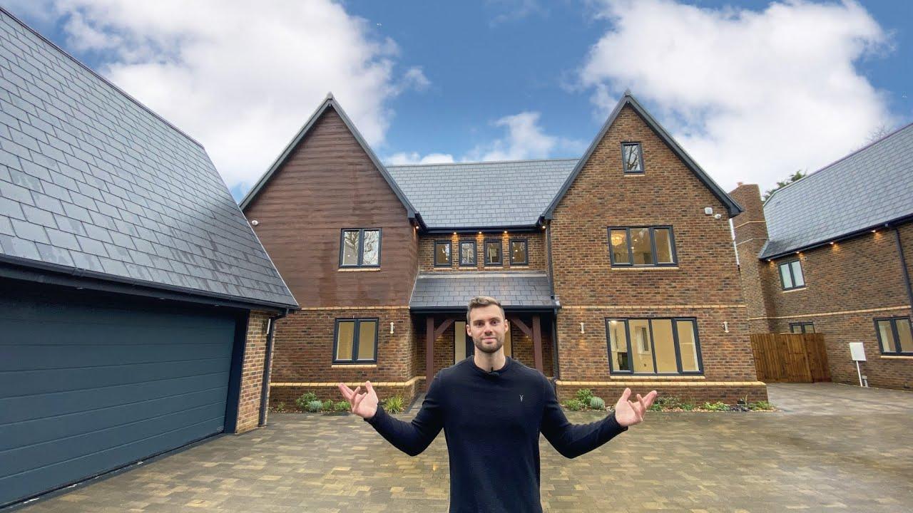 What £1,650,000 buys you in Milton Keynes (new build house tour)