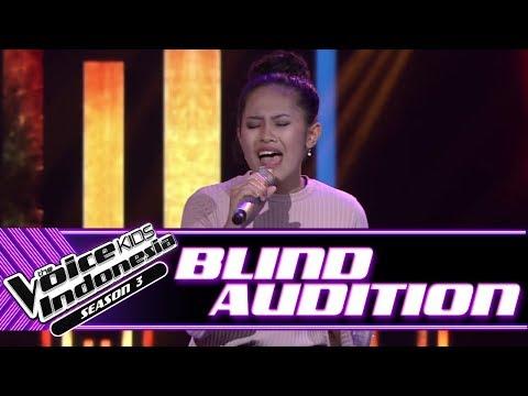 Jelita - Run To You | Blind Auditions | The Voice Kids Indonesia Season 3 GTV 2018