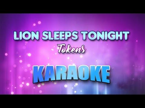 Tokens - Lion Sleeps Tonight (Karaoke Version With Lyrics)