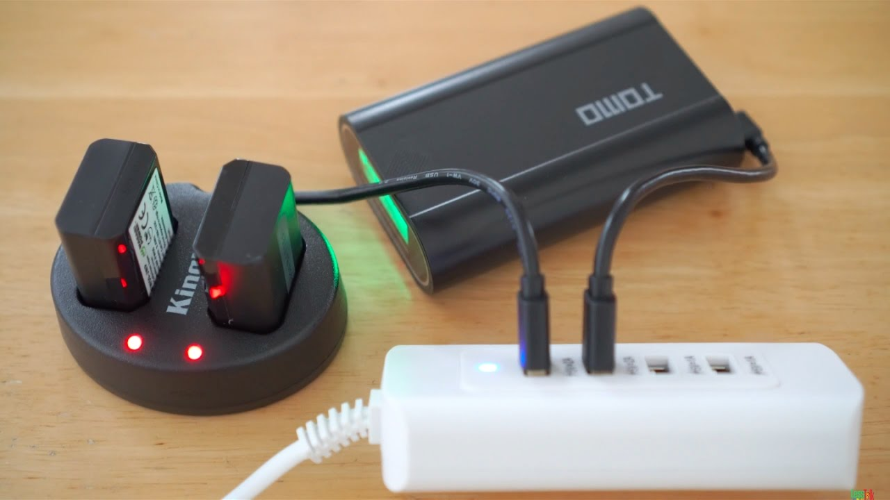Wasabi Kingma Dual Charger For Sony Np Fw50 Batteries 4 Quad Port Usb Ac Adapter 4k Unboxing Haul
