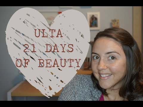 Ulta 21 Days of Beauty  March & April 2018  Brianna Mae