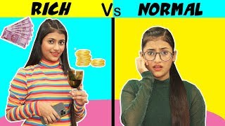 Girls : Rich Vs. Normal | SAMREEN ALI