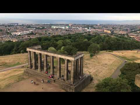 Edinburgh Cityscape And Sunset In A Minute | Ravikant Pandey