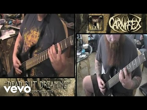 "Carnifex - ""Dead But Dreaming"" Guitar Demonstration"