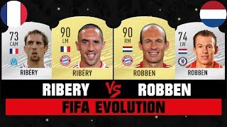 RIBERY VS ROBBEN FIFA EVOLUTION 😱🔥