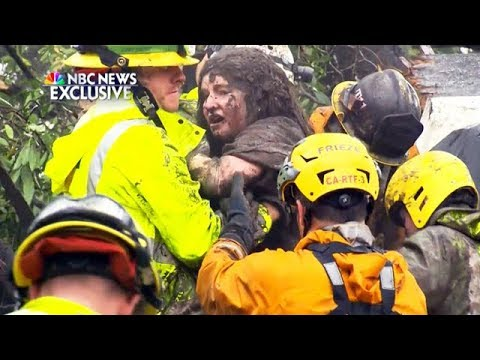 California Mudslides Kill 13 People
