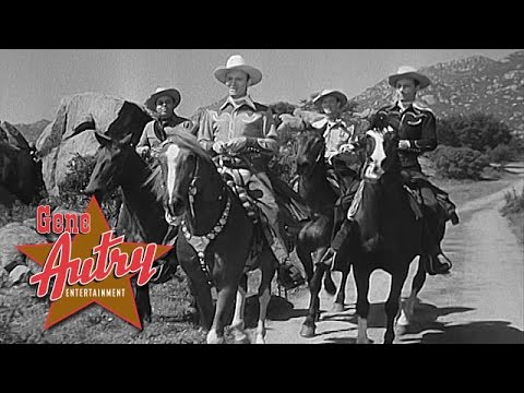 Gene Autry and the Cass County Boys - Goin' Back to Texas (from Robin Hood of Texas 1947)