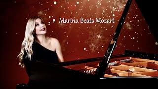 Marina Beats Mozart by Emmy nominated pianist/composer and PBS TV Star Marina Arsenijevic