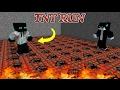 Minecraft Hypixel TNT Run: FAILING HARD! - w/ Gustuks