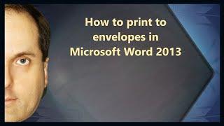 видео печать на конвертах