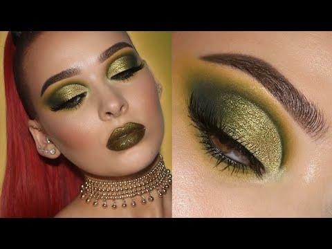 Olive Green Cut Crease | In-Depth Makeup Tutorial