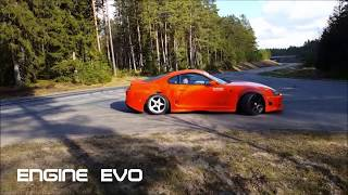 TOYOTA SUPRA 2018 - The Beast    (Official Video HD )