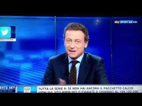 Incredibile gaffe di Sandro Sabatini su SKY Sport24