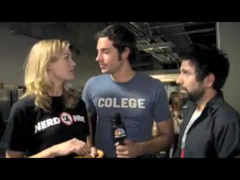 Zachary Levi - Backstage With Chuck