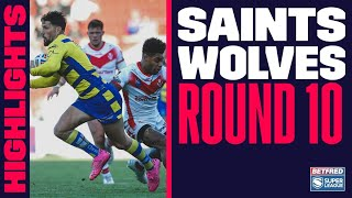 Highlights | St Helens v Warrington Wolves, Round 10, 2021 Betfred Super League, 17.06.2021