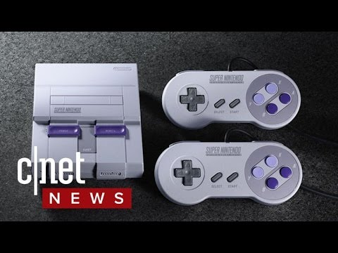 Nintendo announces the SNES classic (CNET News)
