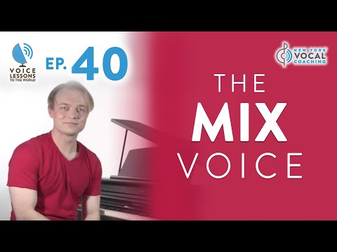 "Ep. 40 ""The Mix Voice""- Voice Lessons To The World"