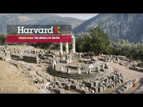 PredictionX Diviner's Guide: The Oracle of Delphi (HarvardX)