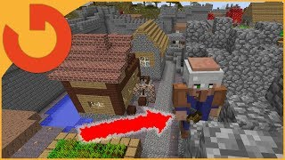 Minecraft FTB - CHECKING IN ON THE QUARRY! (Feed the beast)