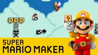 Super Mario Maker -  Don't Look Down
