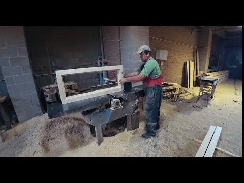 Как делают Деревянные Окна? Производство и установка компания Башкирские Окна