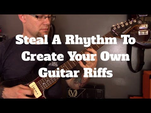 The EASIEST Way To Write Guitar Riffs