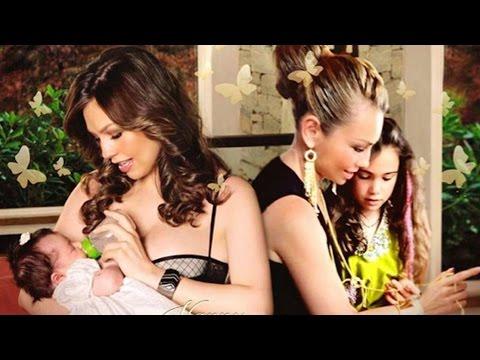 Thalía celebró así los 8 años de su hija Sabrina