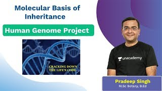 Molecular basis of inheritance | Human Genome Project | Unacademy NEET | Biology | Pradeep Sir