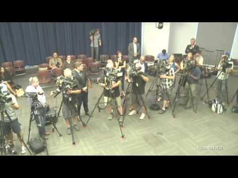 @TorontoPolice News Conference Re: Ashley Madison Website Hack